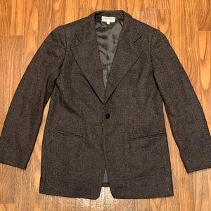 Giorgio Armani tweed vintage classic button blazer